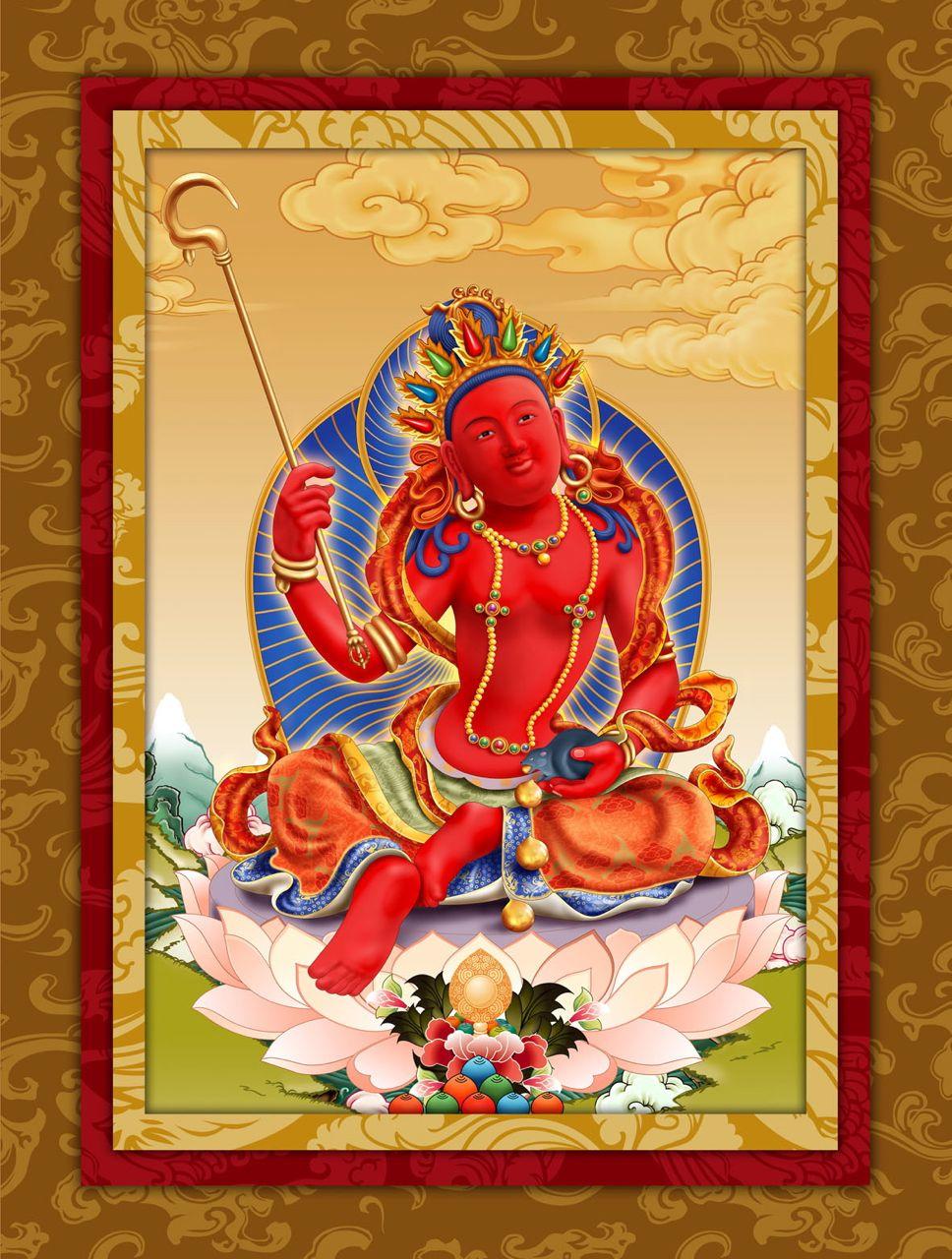 Namo Red Manohara Vasudhara Purification, Blessings, Enrichment, Bardo Fire Homa Ceremony