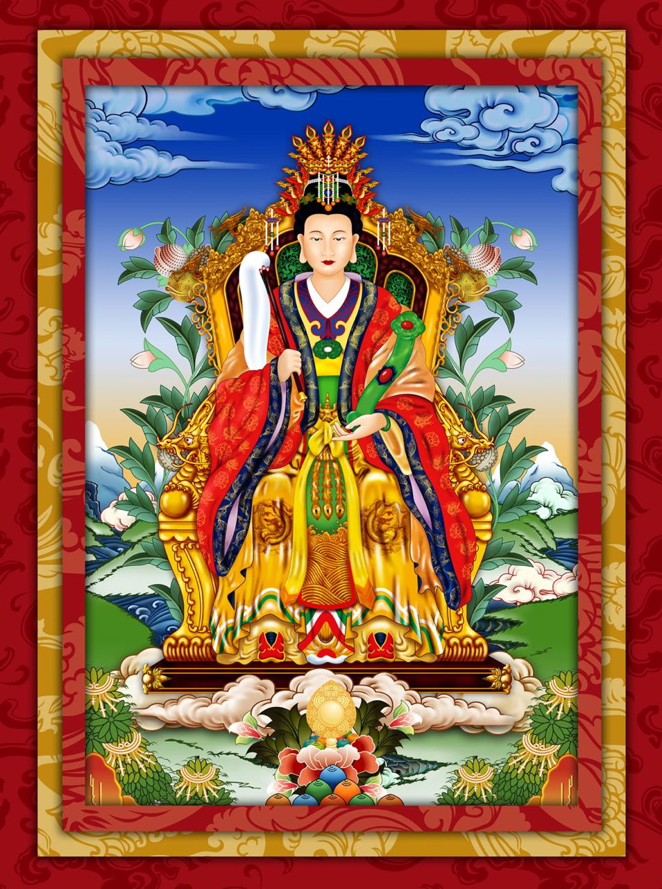 Golden Mother Purification, Blessing, Magnetization, Bardo Fire Homa Ceremony
