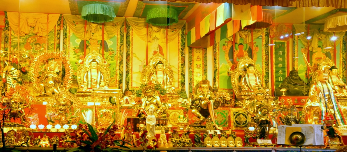 Main Shrine Tiger Side